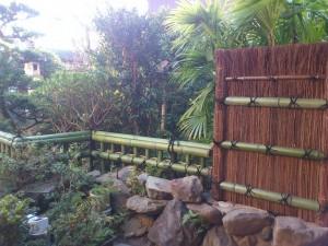 萩のべた垣