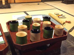 竹製おちょこ