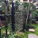 枝折戸 四つ目垣