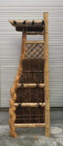 亀甲竹 袖垣