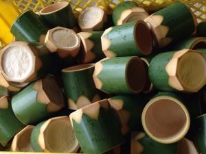 竹の器(八角)