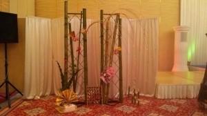 ブライダルフェアの竹