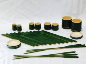 竹のうつわ