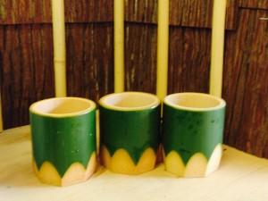 竹の器で、見た目からの「涼」をお届けします!