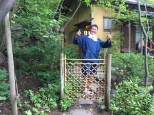 アメリカでの実演@anderson japanese gardens