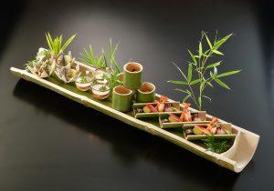 竹の器 使用例