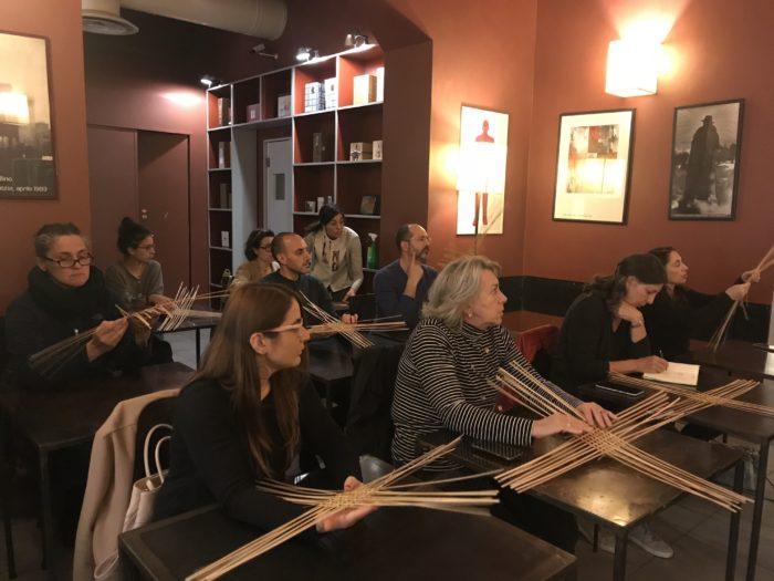 イタリア・ローマで竹工芸のワークショップ