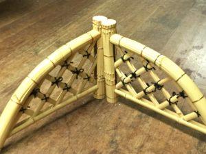 イタリア・ローマで竹工芸の実演