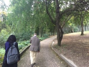 イタリア・ローマでの植物園視察