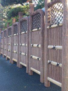 萩の玉袖垣