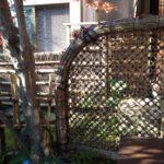 竹枝の光悦寺垣