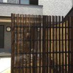 黒竹の鉄砲垣