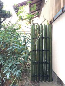 鉄砲垣 袖垣