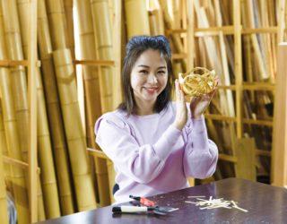観光や修学旅行の京都の思い出作りに「竹籠」の製作体験はいかがですか?