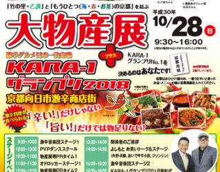 10月28日(日)「KARA-1グランプリ2018」会場でのワークショップ開催のお知らせ