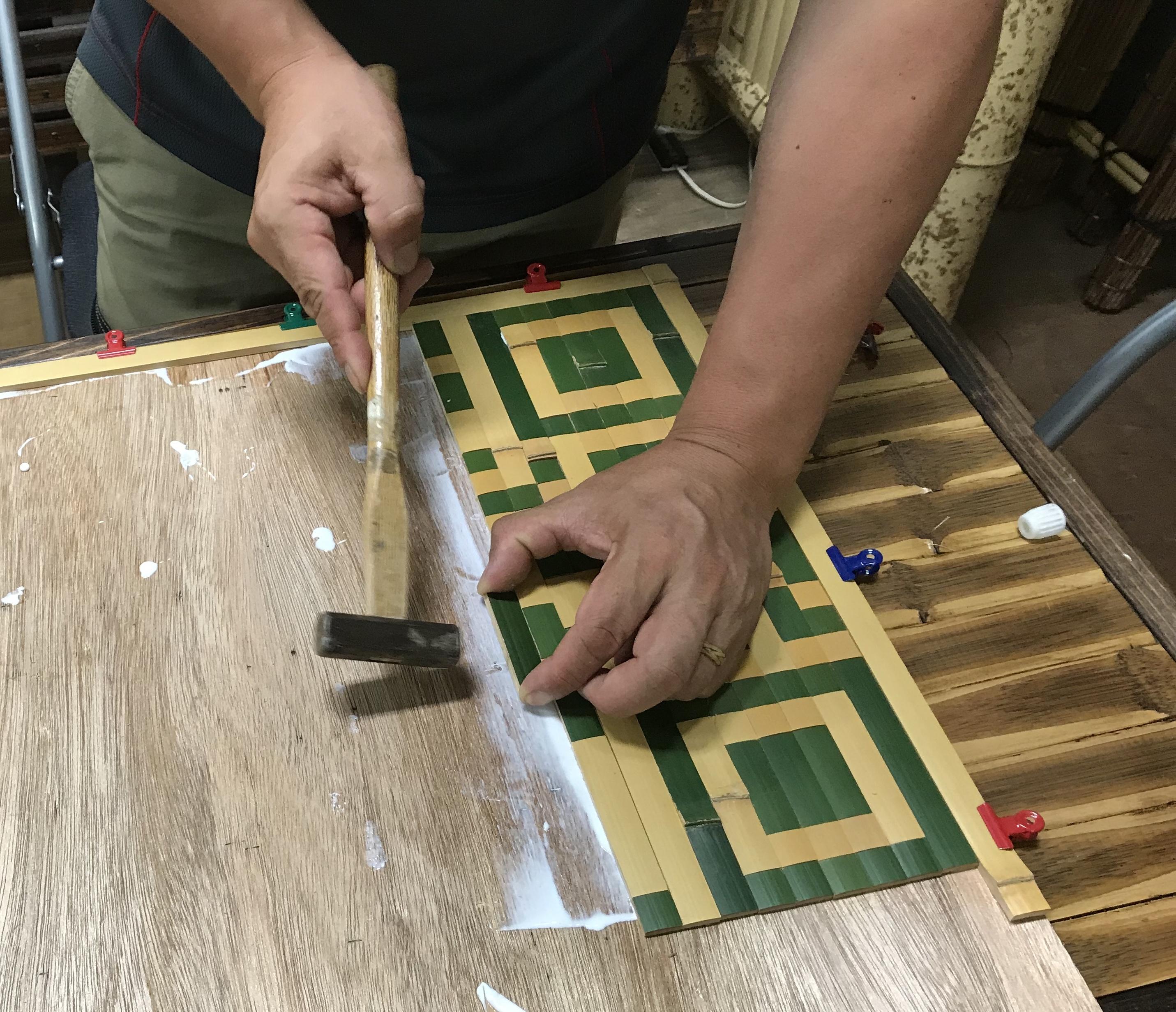 長岡銘竹の竹のQRコード