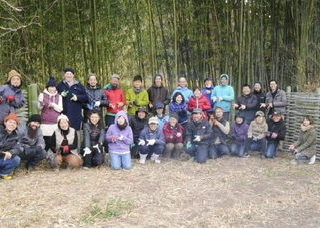 """放置竹林の""""竹""""の利活用ワークショップで竹垣制作を行いました!"""
