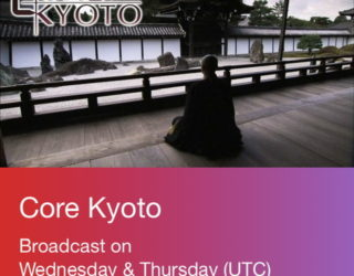 4/2 NHK WORLD-JAPAN「Core Kyoto」に出演のお知らせ