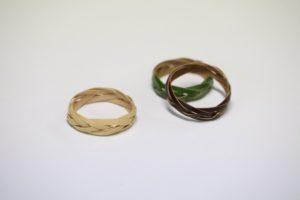 竹で編んだ指輪BAMBOORING