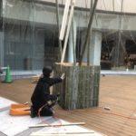 竹の空間演出@みやこめっせTASKの学生とコラボ