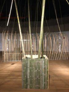 竹の空間演出@みやこめっせ
