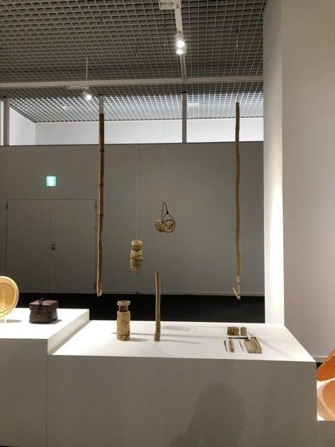京都伝統産業ミュージアムで展示中の茶道具